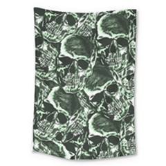Skull Pattern Large Tapestry