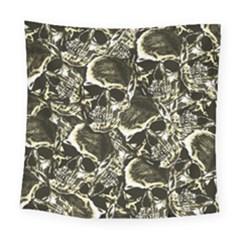 Skull Pattern Square Tapestry (large)