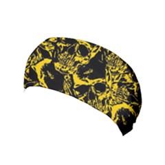 Skull Pattern Yoga Headband
