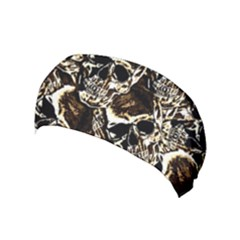 Skull Pattern Yoga Headband