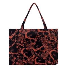 Skull Pattern Medium Tote Bag