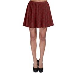 Floral Pattern Skater Skirt