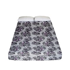 Floral Pattern Fitted Sheet (full/ Double Size)