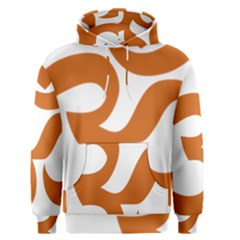 Hindu Om Symbol (Chocolate Brown) Men s Pullover Hoodie