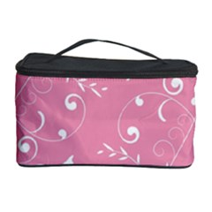 Floral Design Cosmetic Storage Case