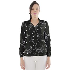 Floral Design Wind Breaker (women)