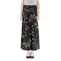 Floral Design Maxi Skirts