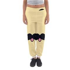 Mustache Women s Jogger Sweatpants