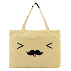 Mustache Medium Tote Bag