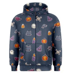 Kawaiieen Pattern Men s Zipper Hoodie