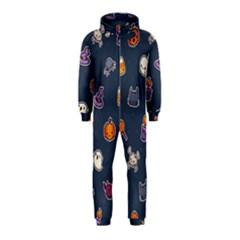 Kawaiieen Pattern Hooded Jumpsuit (kids)