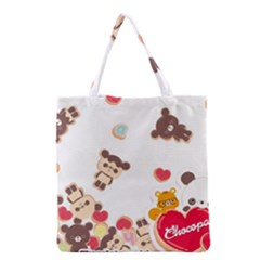 Chocopa Panda Grocery Tote Bag