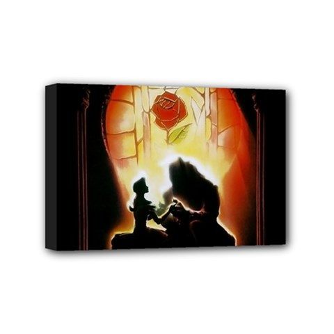 Beauty And The Beast Mini Canvas 6  x 4