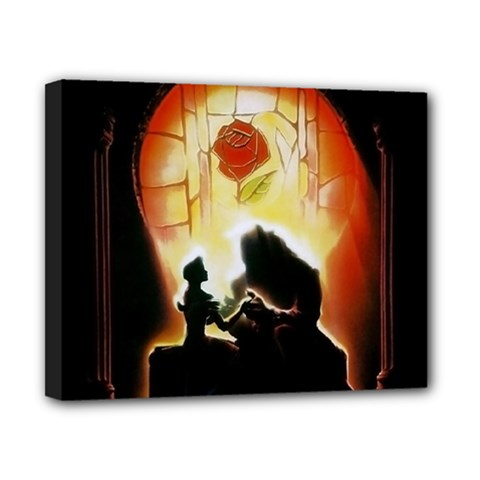 Beauty And The Beast Canvas 10  X 8