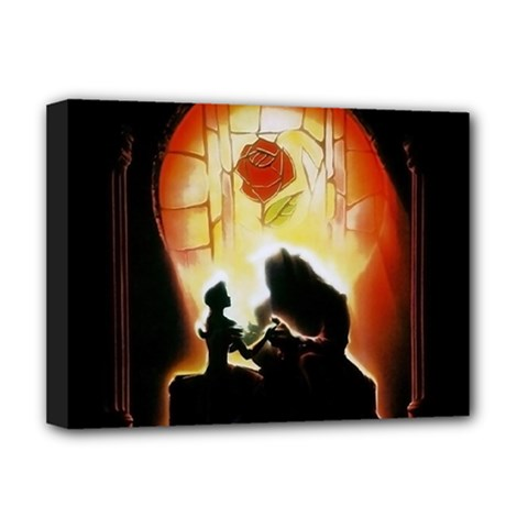 Beauty And The Beast Deluxe Canvas 16  X 12