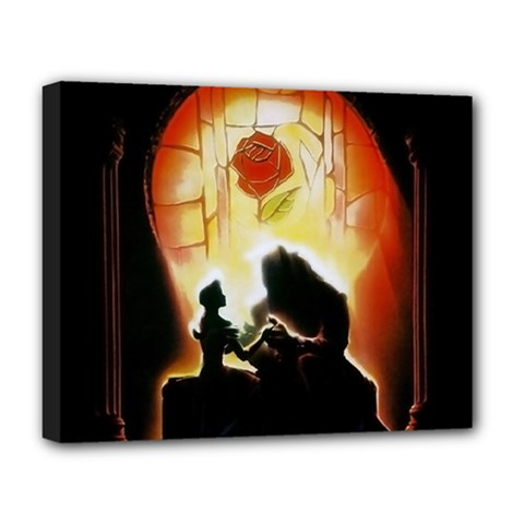 Beauty And The Beast Deluxe Canvas 20  X 16