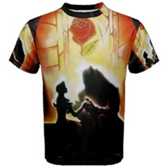 Beauty And The Beast Men s Cotton Tee