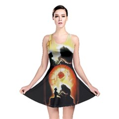 Beauty And The Beast Reversible Skater Dress