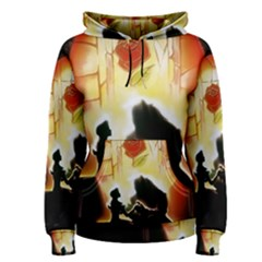 Beauty And The Beast Women s Pullover Hoodie