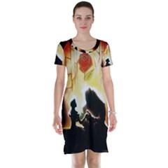 Beauty And The Beast Short Sleeve Nightdress