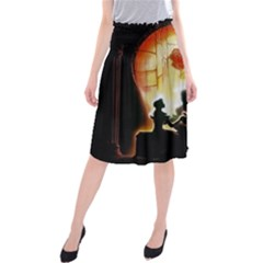 Beauty And The Beast Midi Beach Skirt