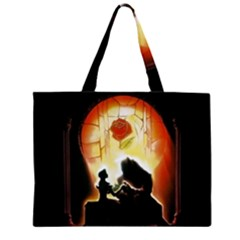 Beauty And The Beast Large Tote Bag
