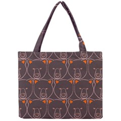 Bears Pattern Mini Tote Bag