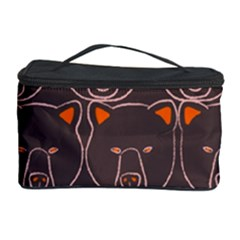 Bears Pattern Cosmetic Storage Case