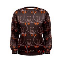Bears Pattern Women s Sweatshirt