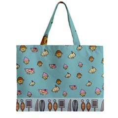 Kawaii Kitchen Border Mini Tote Bag