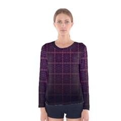 Best Pattern Wallpapers Women s Long Sleeve Tee