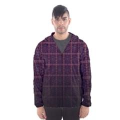 Best Pattern Wallpapers Hooded Wind Breaker (men)