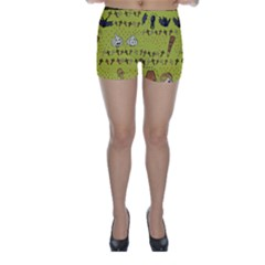 Horror Vampire Kawaii Skinny Shorts