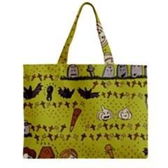 Horror Vampire Kawaii Zipper Mini Tote Bag