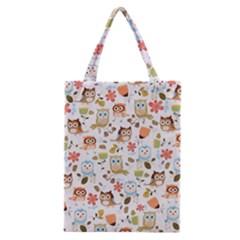 Cute Owl Classic Tote Bag