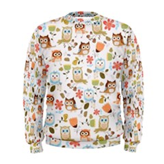 Cute Owl Men s Sweatshirt