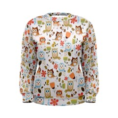 Cute Owl Women s Sweatshirt