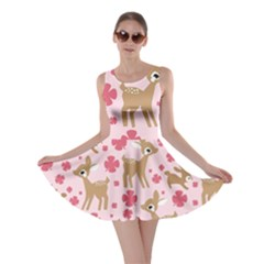 Preety Deer Cute Skater Dress