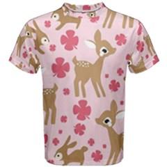 Preety Deer Cute Men s Cotton Tee