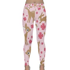 Preety Deer Cute Classic Yoga Leggings