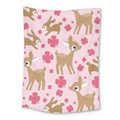 Preety Deer Cute Medium Tapestry