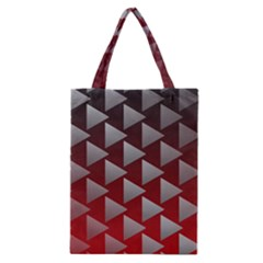 Netflix Play Button Pattern Classic Tote Bag