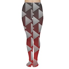 Netflix Play Button Pattern Women s Tights