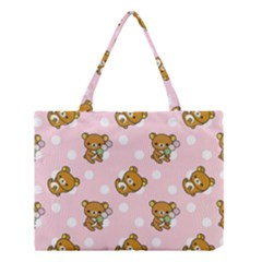 Kawaii Bear Pattern Medium Tote Bag