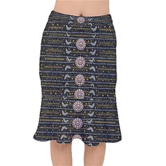 Pearls And Hearts Of Love In Harmony Mermaid Skirt