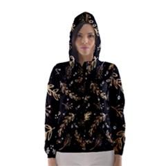 Kawaii Wallpaper Pattern Hooded Wind Breaker (Women)