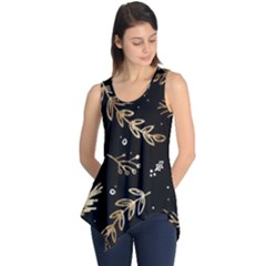 Kawaii Wallpaper Pattern Sleeveless Tunic