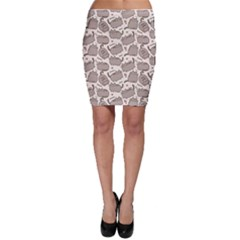 Pusheen Wallpaper Computer Everyday Cute Pusheen Bodycon Skirt