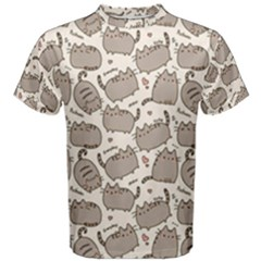 Pusheen Wallpaper Computer Everyday Cute Pusheen Men s Cotton Tee