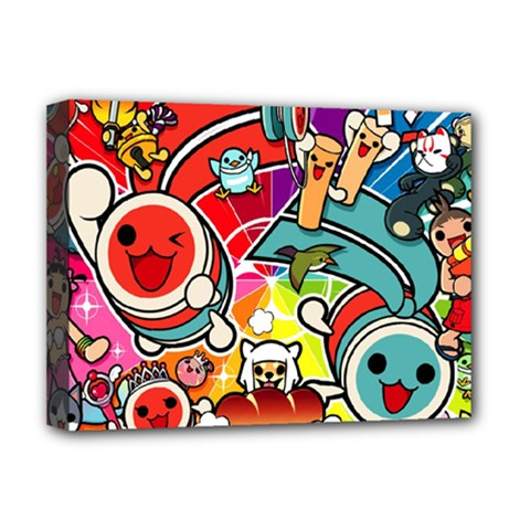 Cute Doodles Wallpaper Background Deluxe Canvas 16  x 12